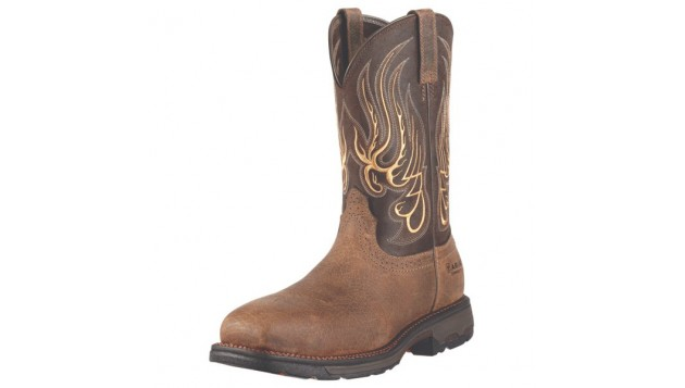 Ariat Workhog Mesteno 11 inch Pull-On Composite Toe Western Work Boot 10010892