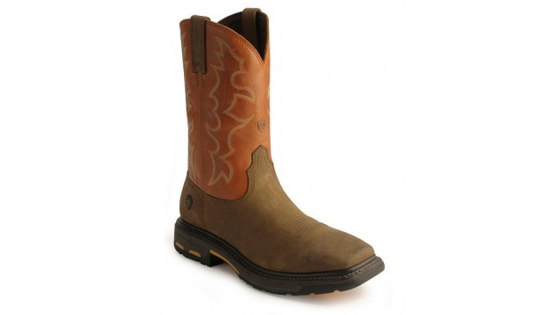 Ariat Workhog Wide Square-Toe Tall Steel Toe Boots