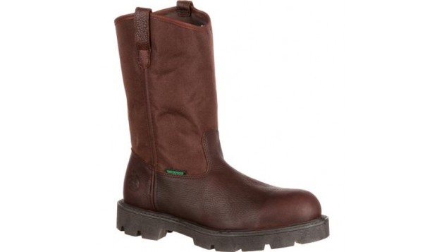 Georgia Homeland Waterproof Wellington Steel Toe Boots G111