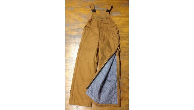 Key FR Tradional Insulated Bib Overall , Hip Zip