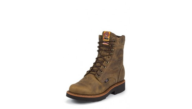 Justin-RUGGED TAN GAUCHO STEEL-TOE