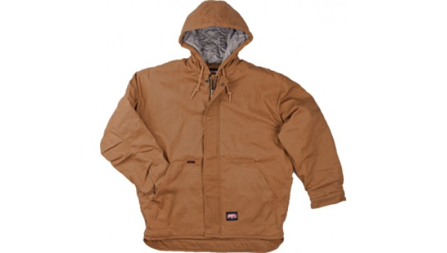 KEY FR Insulated Duck Hooded Jacket with Flameout™ Fabric Technology