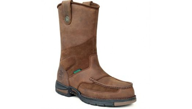 Georgia Athens Steel Toe Waterproof Wellington Work Boots
