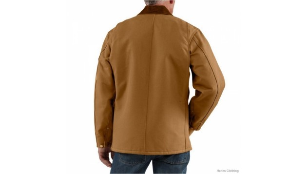 Carhartt Men's Duck Chore Coat C001 Blanket-Lined