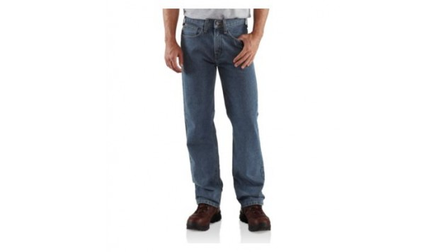 Carhartt Men's Relaxed Fit Straight-Leg Jean B460