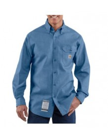 Carhartt - MEN'S FLAME-RESISTANT CHAMBRAY SHIRT