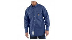 Carhartt Men's Flame-Resistant Snap-Front Original Fit Twill Work Shirt