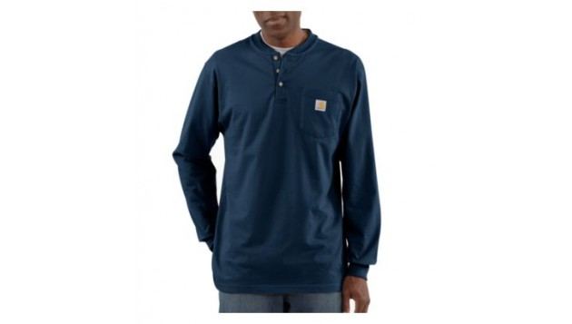 Carhartt Men's Workwear Henley, Long Sleeve