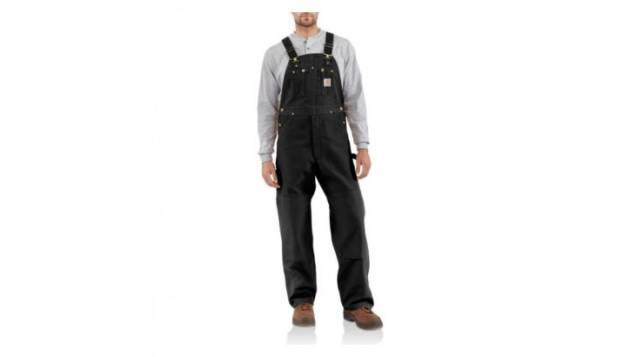 Carhartt Men's Duck Bib Overall, Unlined
