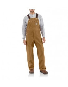 MEN'S DUCK BIB OVERALL/UNLINED
