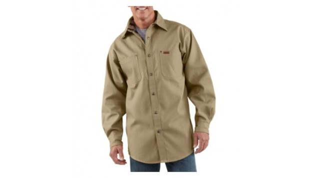 Carhartt Men's Weathered Canvas Shirt Jac 100590