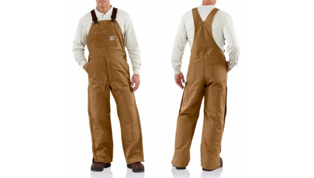 Carhartt Flame-Resistant Quilt-Lined Duck Bib Overall 101626