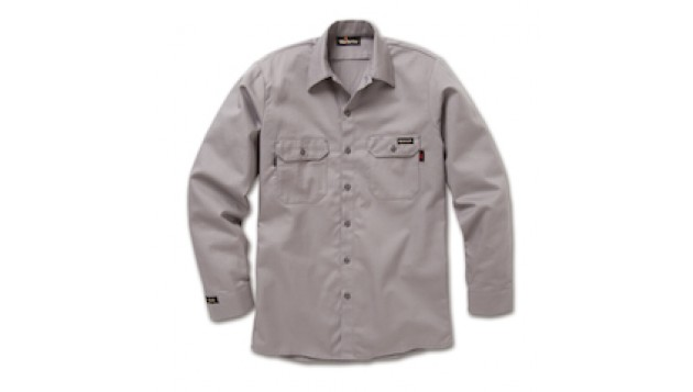 Workrite -7 oz UltraSoft Long Sleeve Work Shirt (FR)