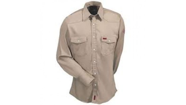 Wrangler-FLAME RESISTANT SNAP FRONT SHIRT - HRC2