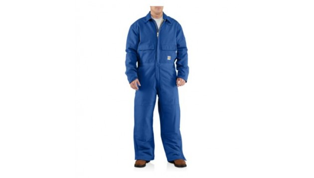 Carhartt Men's Flame-Resistant Duck Coverall Quilt-Lined 100196