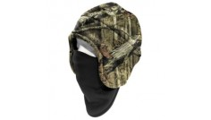 Carhartt Camo Fleece Hat 2-in-1 Headwear