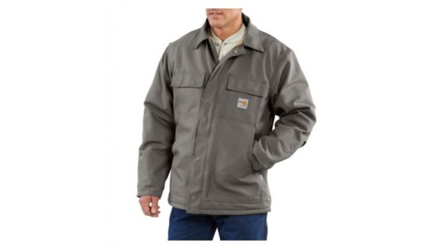 Carhartt Flame-Resistant Duck Traditional Coat, Quilt-Lined