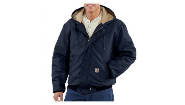 Carhartt Men's Flame-Resistant Duck Active Jacket, Quilt-Lined 101621