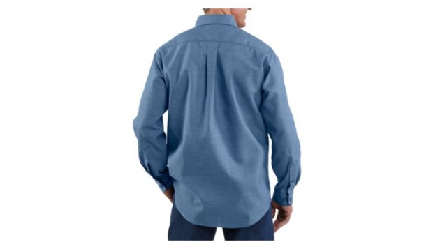 Carhartt Men's Flame-Resistant Original Fit Chambray Shirt