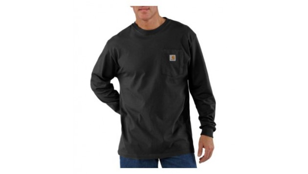 Carhartt Men's Workwear Work Pocket T-Shirt, Long Sleeve