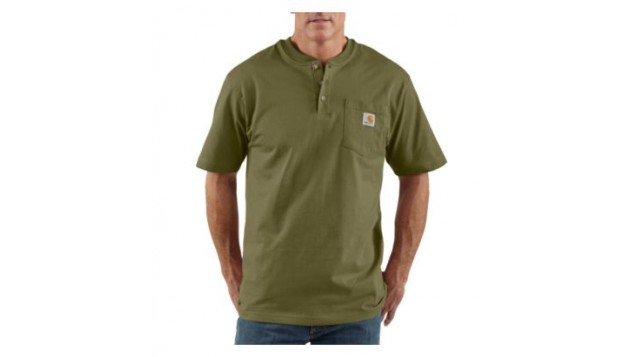 Carhartt - MEN'S SHORT SLEEVE WORKWEAR HENLEY