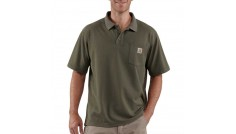 Carhartt K570 Men's Contractor Short Sleeve Work Pocket Polo